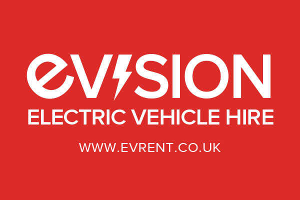 EVision Electric Vehicle Hire Logo