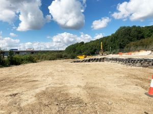 Digger training area in Kent