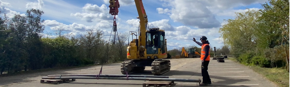 Excavator as a crane