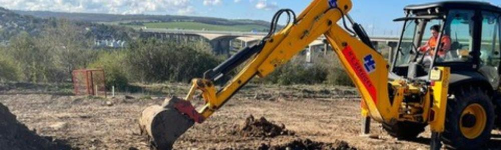JCB 3CX - 180 Excavator course